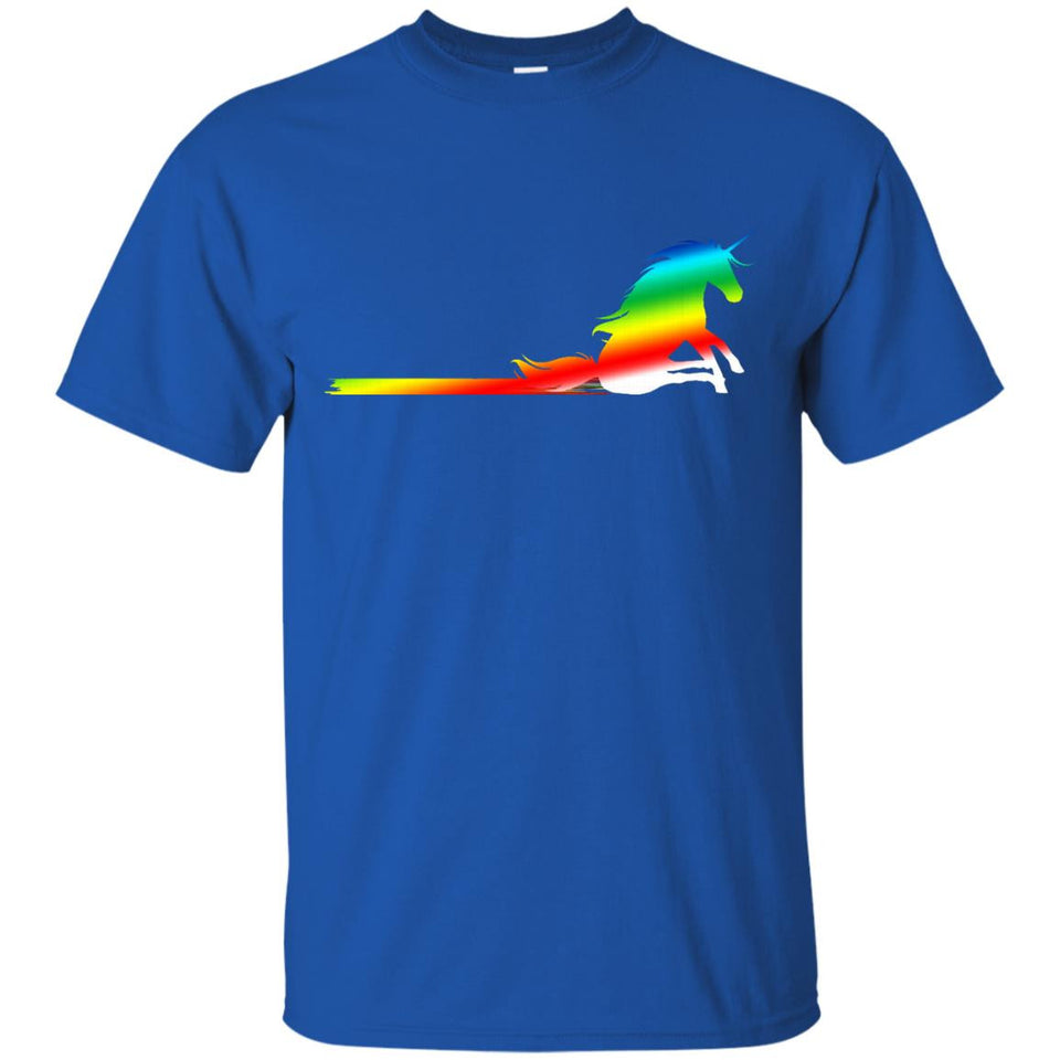 Unicorn Rainbow Poop Shirt - Bottom wiping unicorn - Newmeup