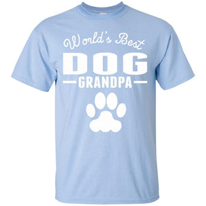 Men's World's Best Dog Grandpa T-Shirt