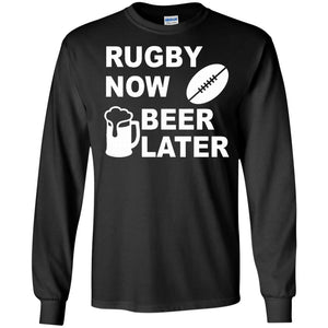 Rugby Now Beer Later
