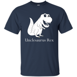 NewmeUp Men's Uncle's Day Shirts Unclesaurus Rex T-shirts