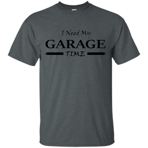 I Need My Garage Time Mechanic-Handyman's T-shirt(Black) - Newmeup