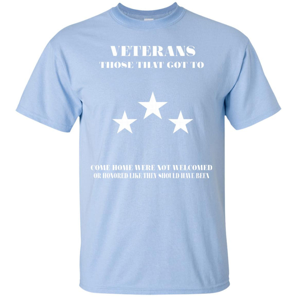 Veteran T-shirt - Veterans - Those That Got To Come Home - Newmeup