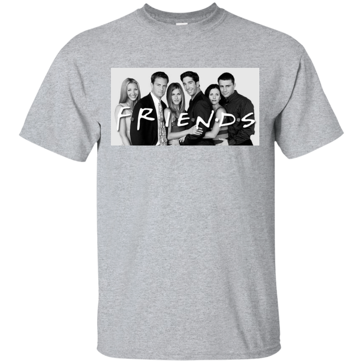 41b7ad915 Friends TV Show - Cast Classy T-Shirt – NewMeup