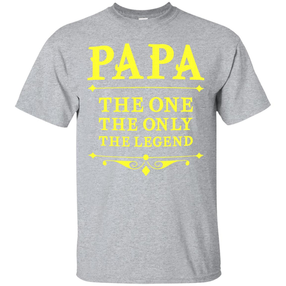 PAPA The One The Only The Legend T-shirt
