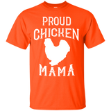 Proud Chicken Mama TShirt Chicken Lady