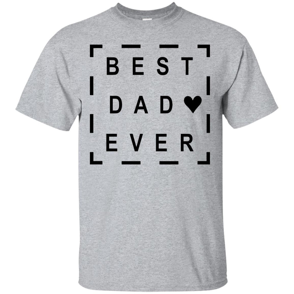 Best Dad Ever T Shirt - Father day Minimalism T Shirt - Newmeup