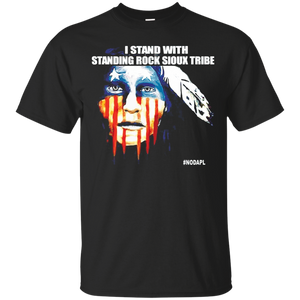 Stand With Standing Rock Sioux Tribe NoDAPL T Shirt - newmeup