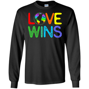 Equality LGBT Pride Heart LS Sweatshirts Love Wins Shirt LGBT Gifts