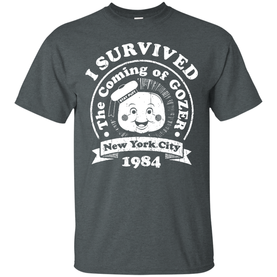 I Survived The Coming Of Gozer TShirt - newmeup