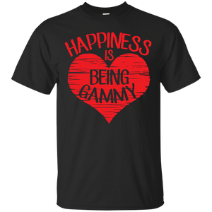 Men's Happiness Is Being a Grammy Funny Grandmother T-shirts