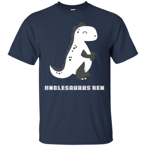 NewmeUp Men's Uncle's Shirts Unclesaurus Rex Funny Dinosaur Shirt for Uncle's Day