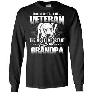 People Call Me Veteran The Most Important Call Me grandpa DT Sweatshirts