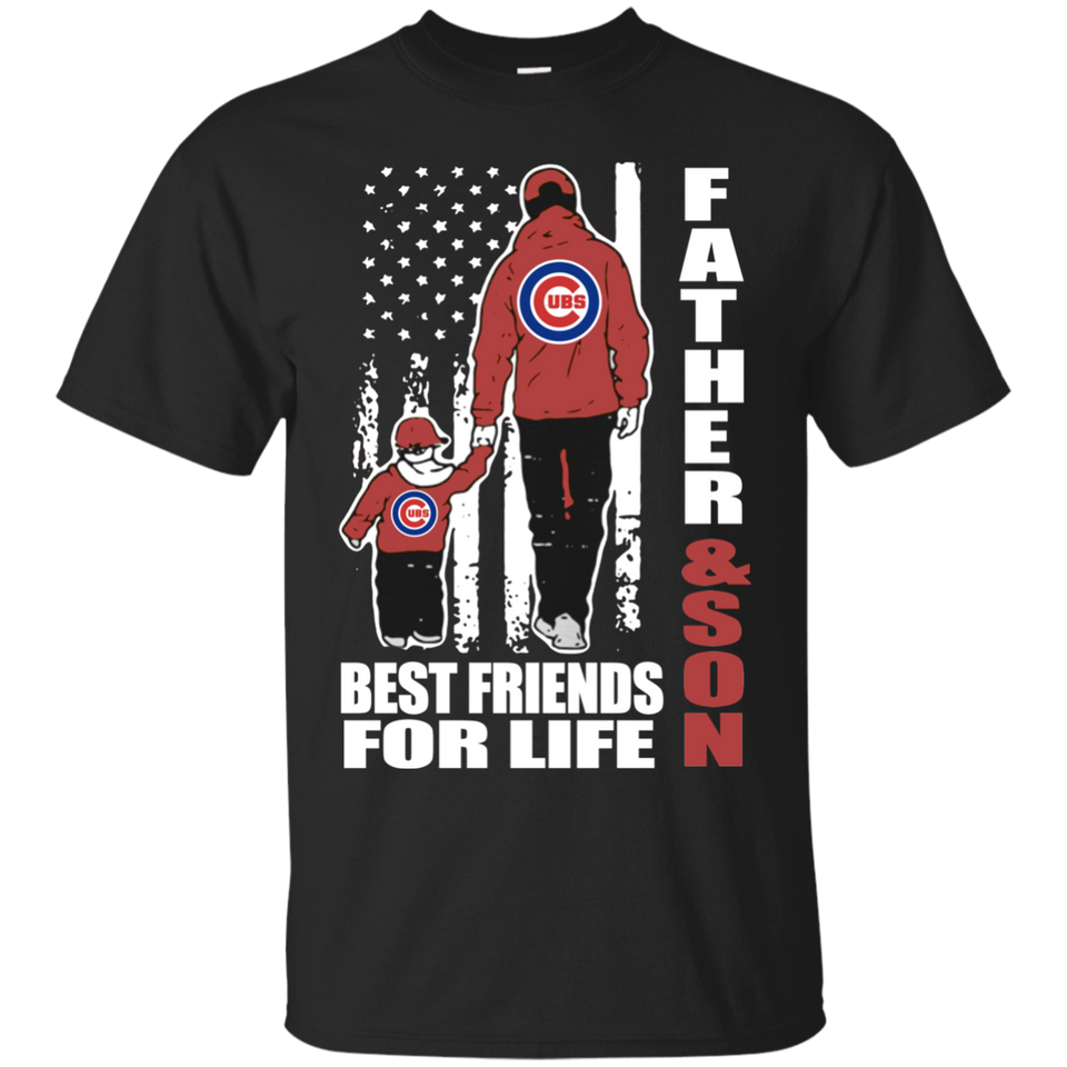 64a358b0f ... Cubs · Men's Fathers Day Shirt Father And Son Best Friends For Life  Chicago ...