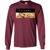 Friends Sitcom TV Series Cast Logo Officially Licensed Sweatshirt