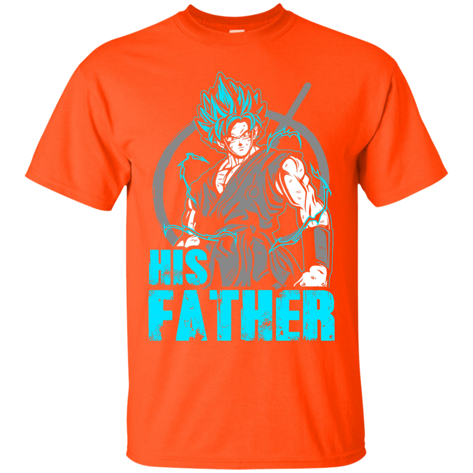 Dragon Ball Z Shirts Men's Goku Super Saiyan Goku PAPA Shirt