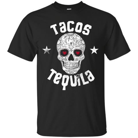 Tacos Tequila Day Of The Dead Sugar Skull Halloween