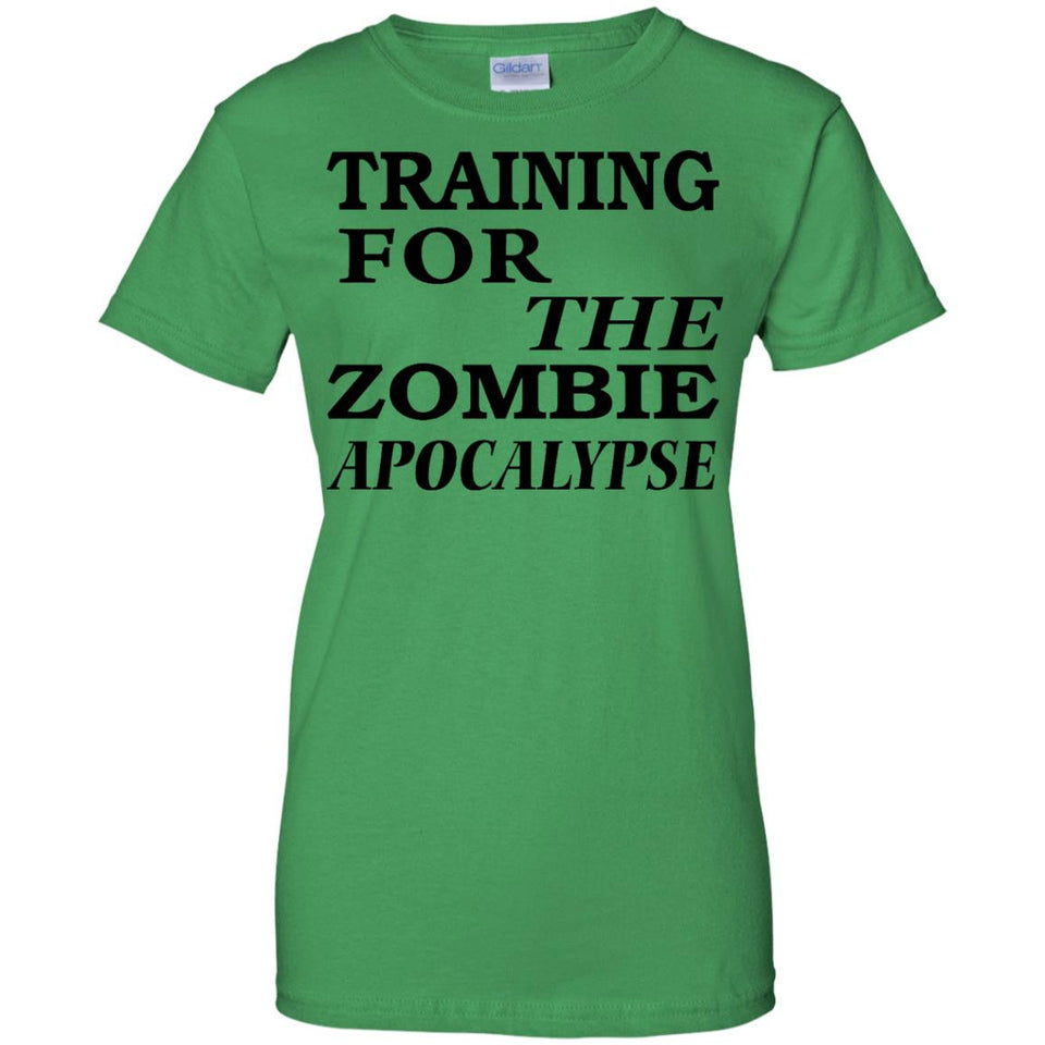 Training For the Zombie Apocalypse t Shirt - Newmeup