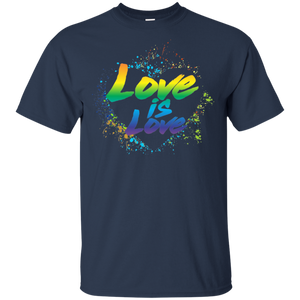 Love is Love - Gay Pride Rainbow Flag LGBT T Shirt