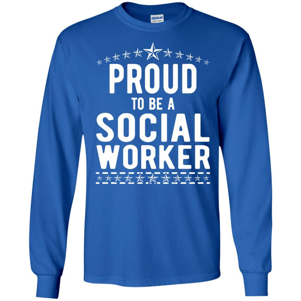 The Official Proud to Be a Social Worker T-Shirt