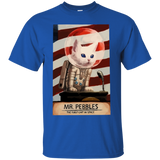 Mr Pebbles T shirt - The first cat in space