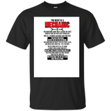 Mechanic shirt You might be a Mechanic(Black) - Newmeup