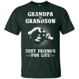 Grandpa and Grandson Best Friends For Life Shirt - newmeup