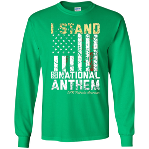 I STAND FOR THE NATIONAL ANTHEM PATRIOTIC SWEATSHIRT - newmeup