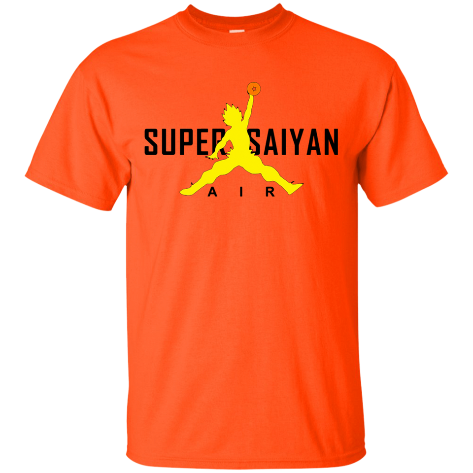 Super Saiyan Air Black t-shirt - newmeup
