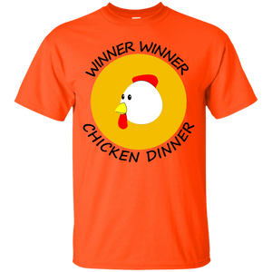 Winner winner chicken dinner Tshirt Black - Newmeup