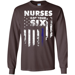 Ive got you six Nurses Got Your Six SWEATSHIRT - newmeup