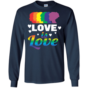 Love Is Love LGBT Pride Shirt - Unisex Equality Love Sweatshirts