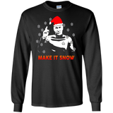 STAR DATA TREK MAKE IT SNOW SWEATSHIRT - newmeup