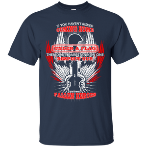 NewmeUp Men's Fallen Heroes T-shirt Under A Flag Shirts