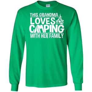 Camping Gifts - This Grandma Loves Camping With Her Family - Newmeup