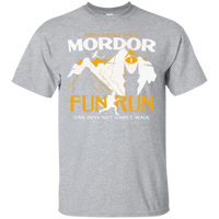 Mordor Fun Run T-Shirt - Mordor Fun Run