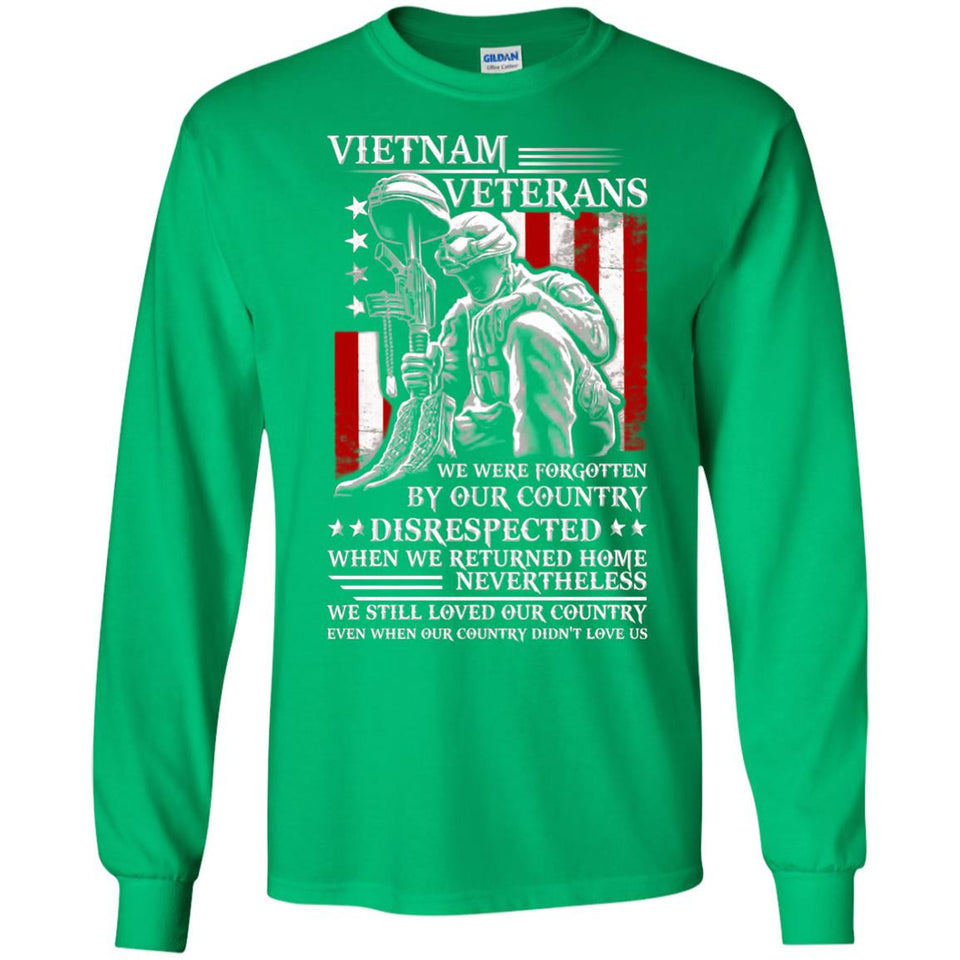 Vietnam Veteran T-shirt - We Still Loved Our Country Shirt - Newmeup