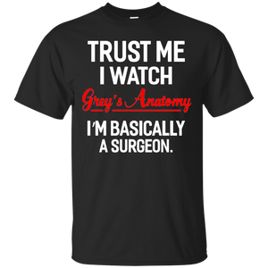 Trust Me I Watch Grey Anatomy Christmas Shirt - Newmeup