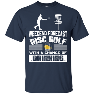 Men's Weekend Shirts Weekend Forecast Golf Tshirts