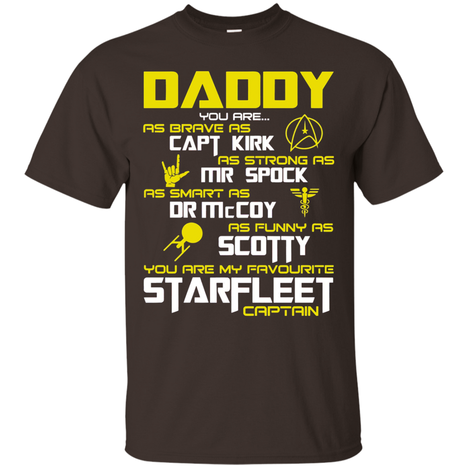 Daddy Super star Dad Papa Hero Fathers Day Gift Trek Shirts - Newmeup