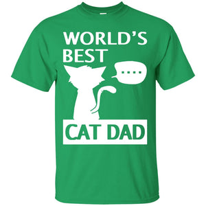 world's best cat dad t shirt fathers day 2017 gift daddy mug - Newmeup