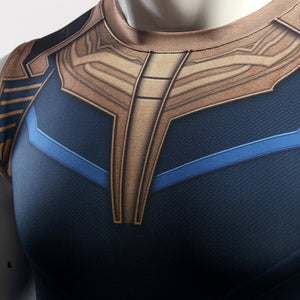 Infinity Shirt Men's Thanos 3D Printed Compression Crossfit Top T-Shirt 2018