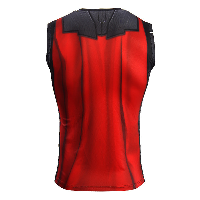 Infinity Shirt Men's Thor 3D Printed Compression Tank Top T-Shirt 2018