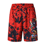 Iron man Shorts Elastic Waist Compression Shorts Quick Dry