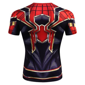 Iron spider Spider Man Cosplay Set Costume for Men