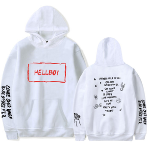 Lil Peep HEllBOY Hoodie Adult HEllBOY Hooded Sweatshirts