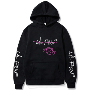 Lil Peep Merch White Hoodies Love lil.peep Sweatshirts