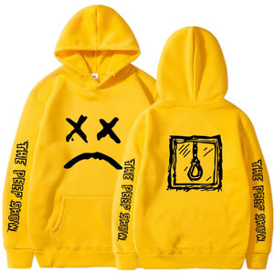 Lil Peep Sweatshirts Cry Baby Love Lil.Peep Hoodies White