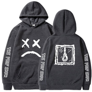 Lil Peep Merch Lil Peep Cry Baby Grey Sweatshirts