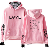 Lil Peep Love Hoodie Two Pieces Sweatshirt for Youth
