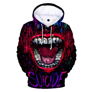 The Joker Merchandise Green Hair 3D Printed Hoodie Cosplay Costume 2019